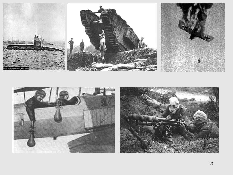 2) Overgangsoorlog technische vernieuwingen tegen traditionele technieken p80 ill.3 e en f p79 ill.3b en d