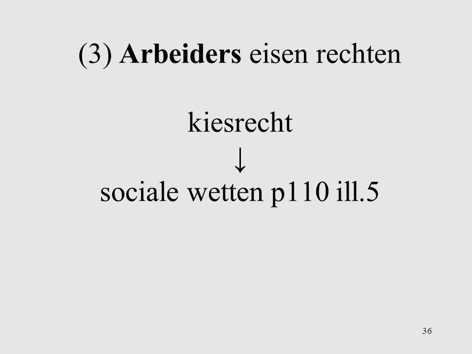 (2) Vrouwen eisen rechten: emancipatie o.a. stemrecht p109 ill.4 35