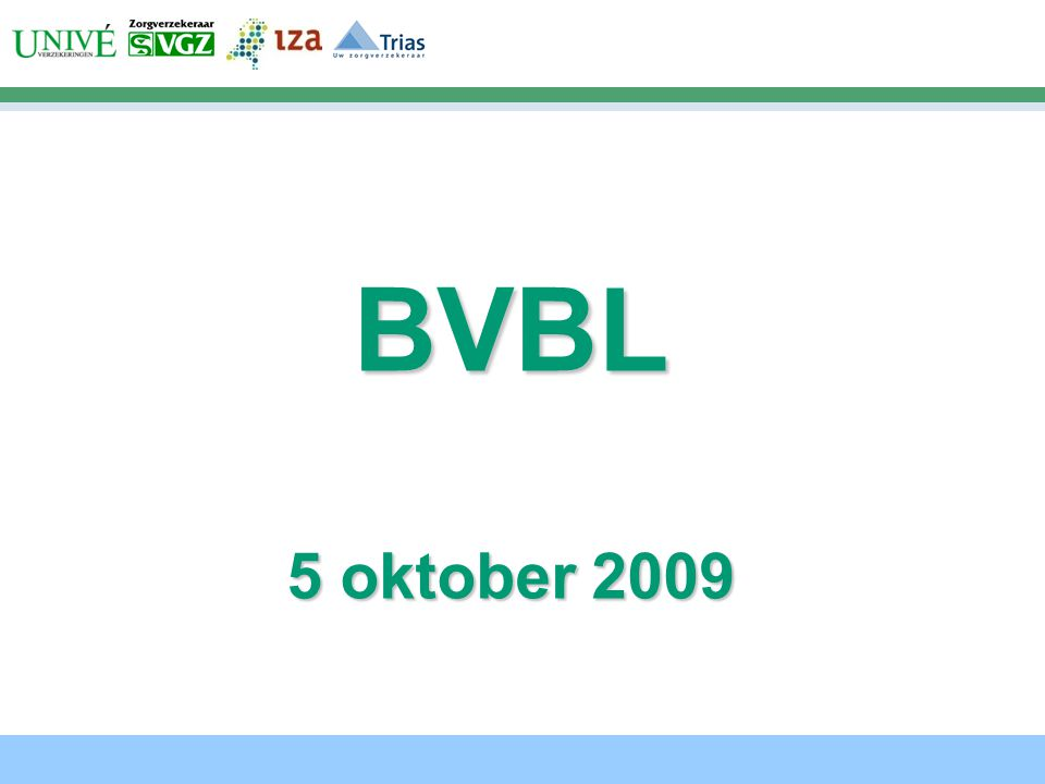 BVBL 5 oktober 2009