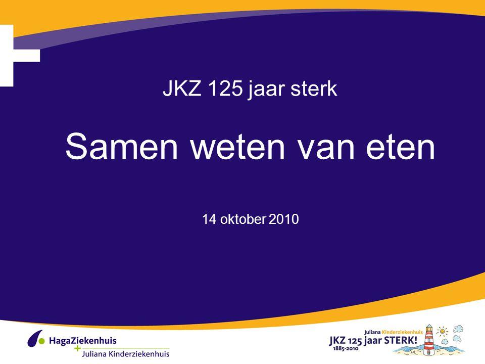 JKZ 125 jaar sterk Samen weten van eten 14 oktober 2010