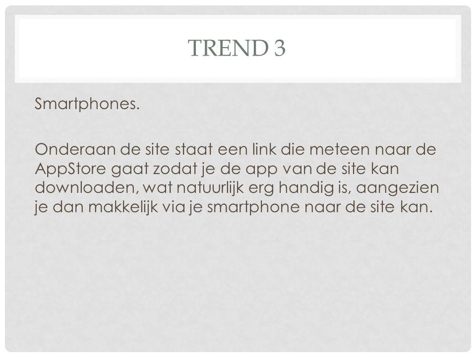 TREND 3 Smartphones.