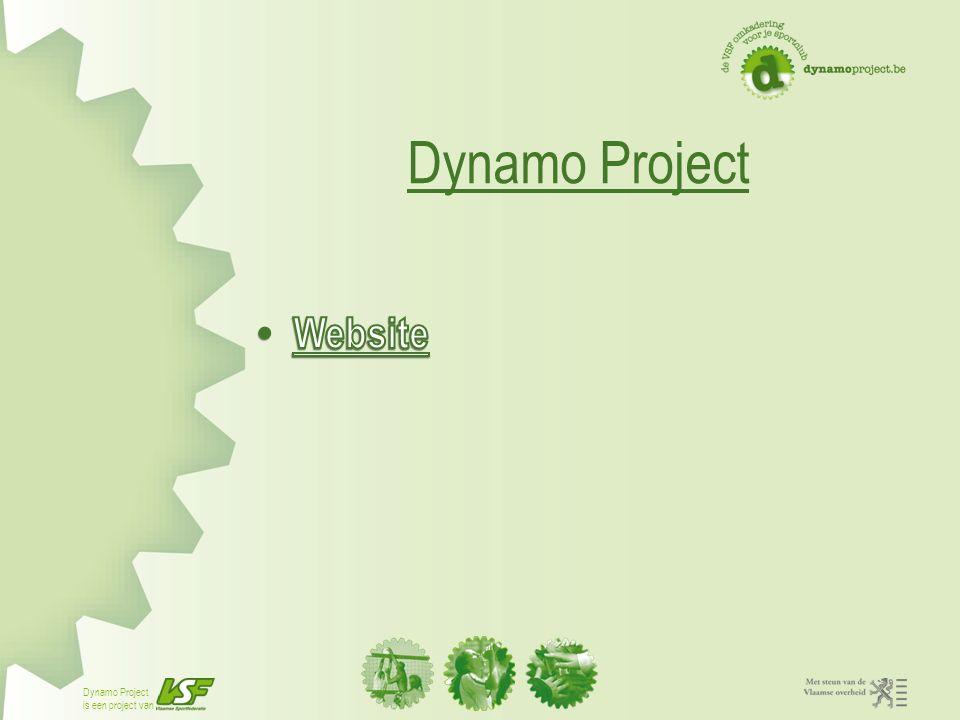 Dynamo Project is een project van Boekhoudprogramma Voor feitelijke vereniging Voor kleine vzw zonder btw plicht Vereenvoudigde boekhouding