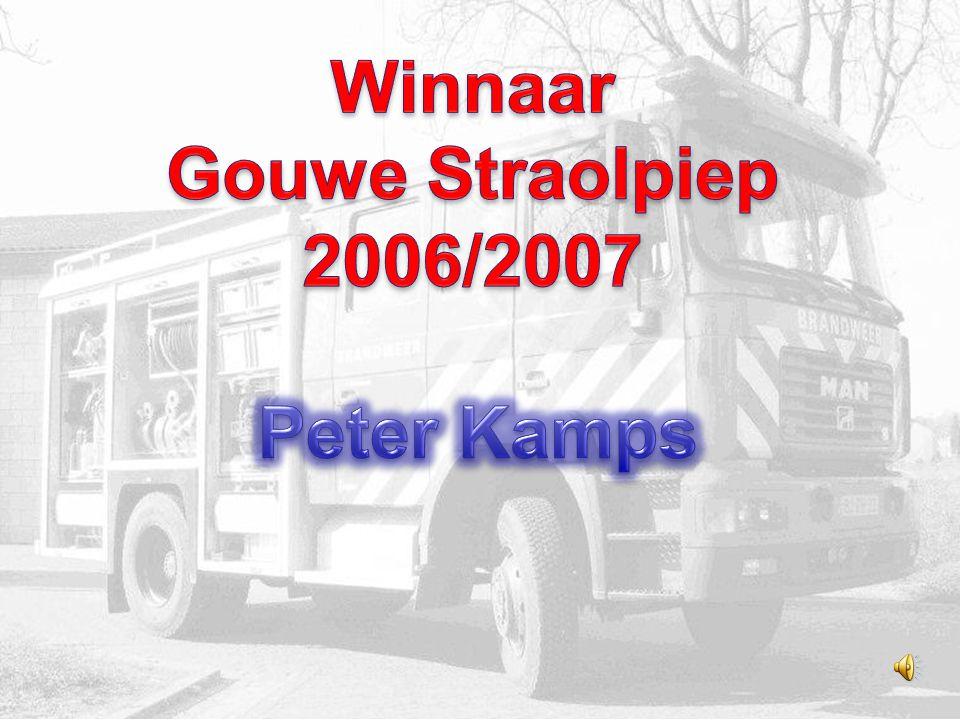 Wij zijn de 3 finalisten…. Peter Kamps Verkes Wiel Maurice Saive 12345 1234 1234