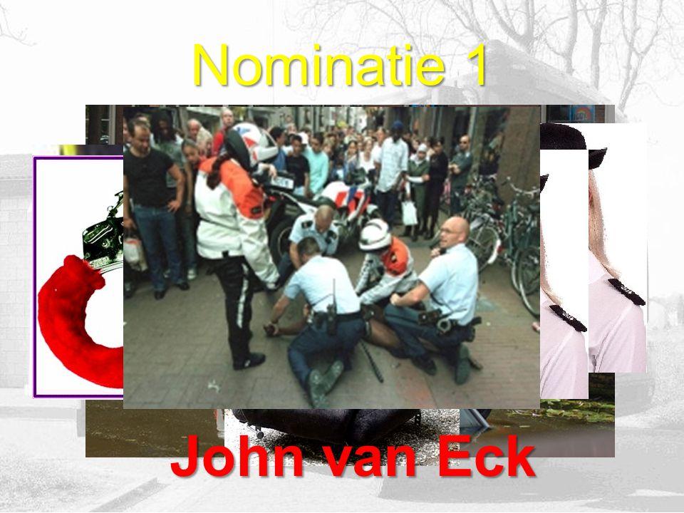 11 nominaties 1 persoon is twee keer genomineerd (die sjeng) Er is op 7 nominaties gestemd Dus 4 nominaties hebben geen stem(men) gekregen! De nominat