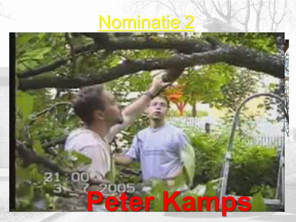 Nominatie 1 John van Eck