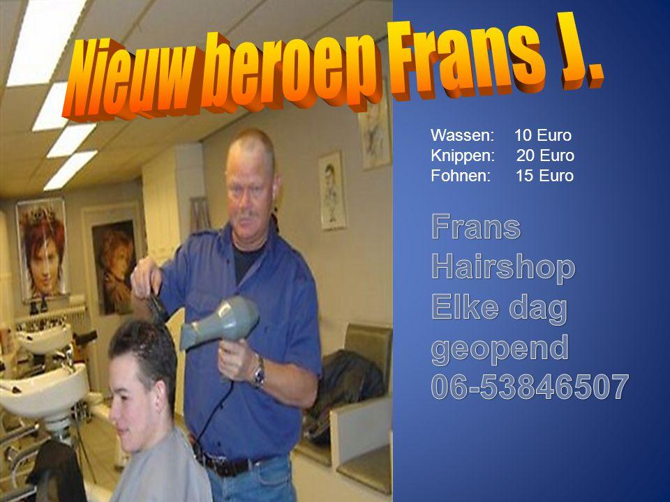 Nominatie 2 Frans Janssen Persoonlijke code Pieper kwijt