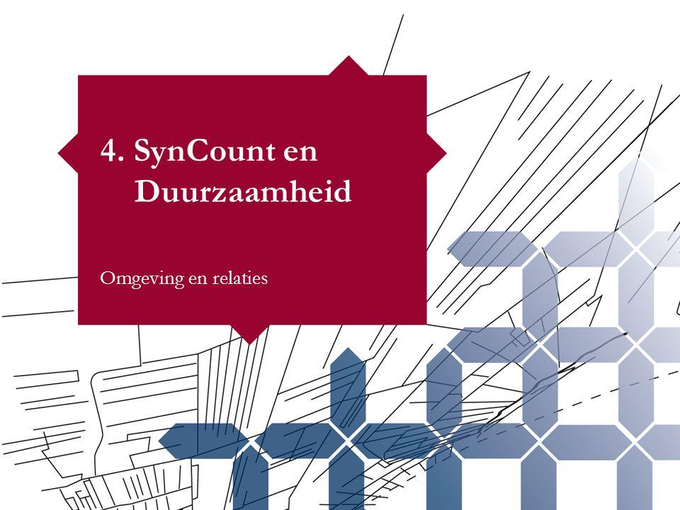 4. SynCount en Duurzaamheid Omgeving en relaties