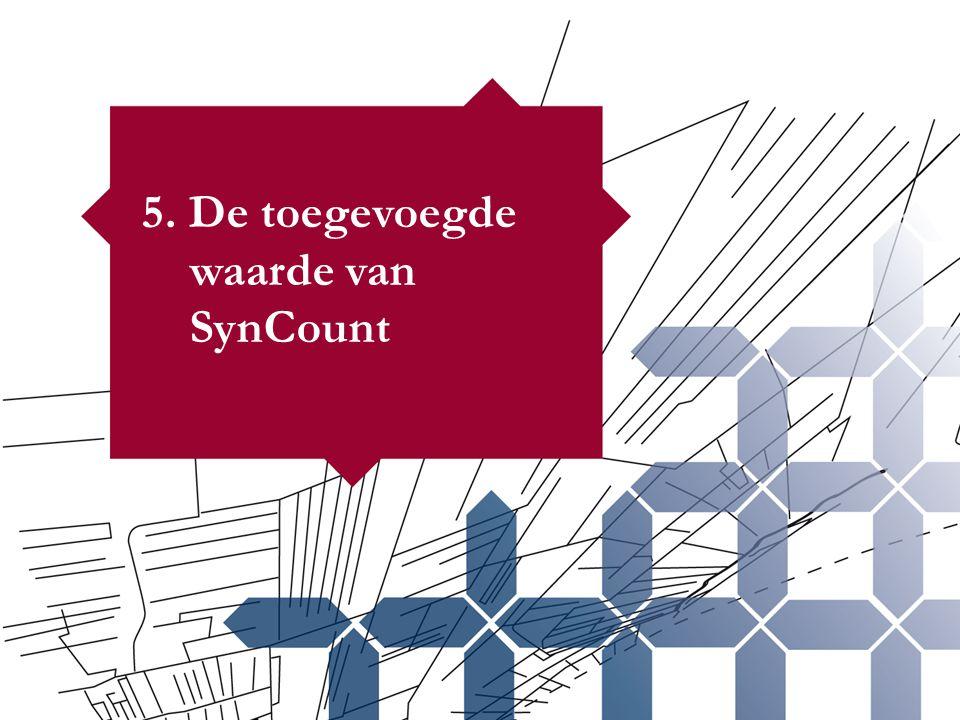 5. De toegevoegde waarde van SynCount