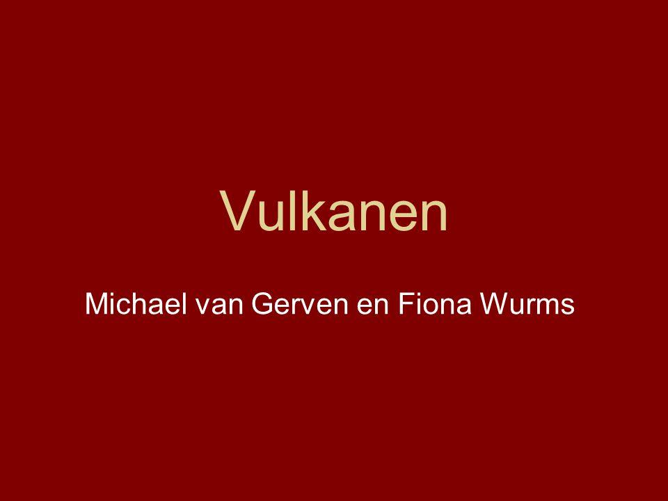 Vulkanen Michael van Gerven en Fiona Wurms