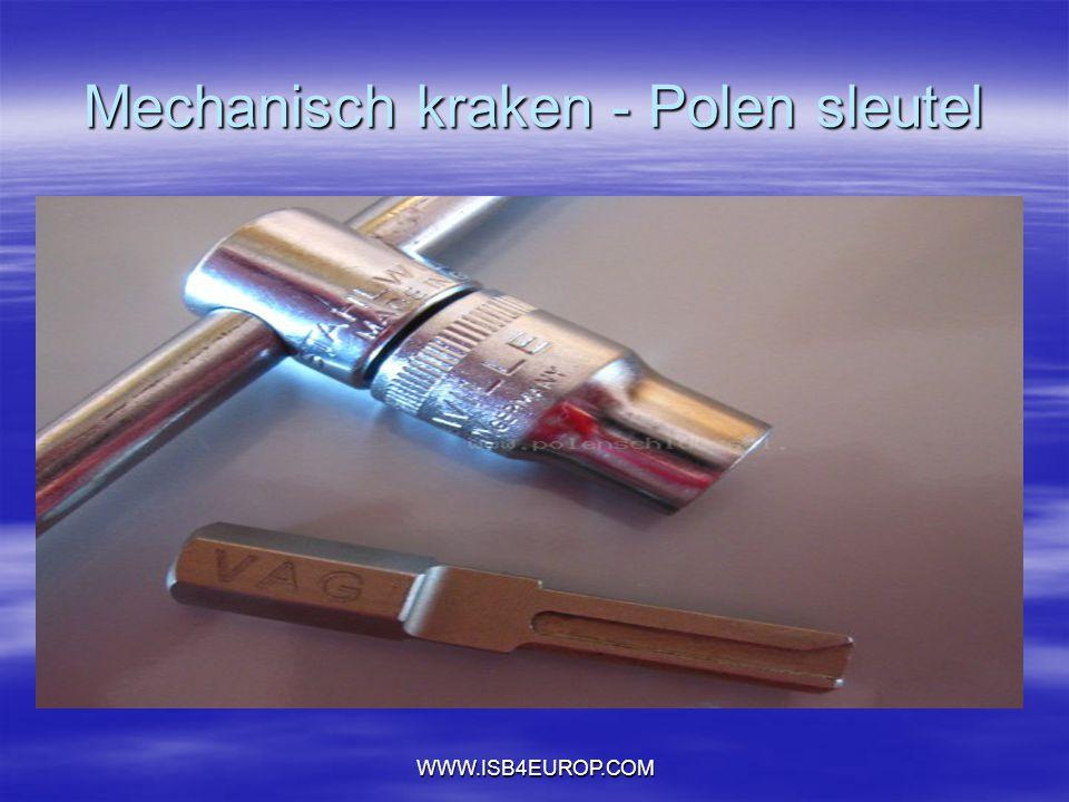 WWW.ISB4EUROP.COM Mechanisch kraken - Polen sleutel