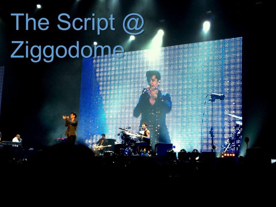 { The Script @ Ziggodome