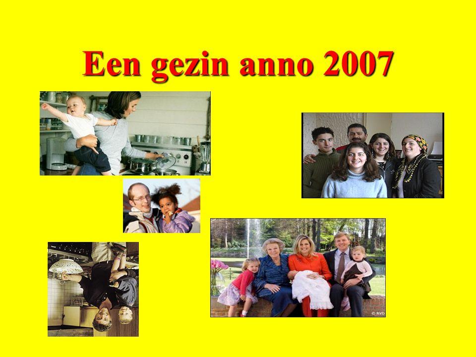Opa Hans 69 jaar Oma Greet 69 jaar Opa Henk 79 jaar Oma Lies 71 jaar Vriendin Ingrid (25) Vader Bart (46) Moeder Kim (44) Vriend Frits (50) Jesse (2) Tom (11)Anna (15)Vriendje Niek (17)