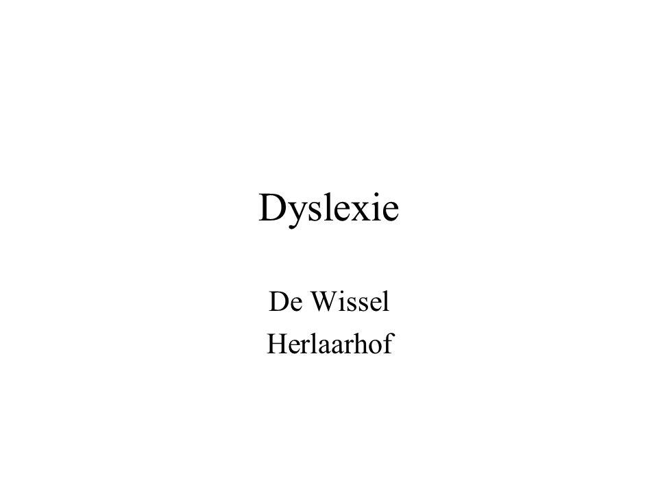 Dyslexie De Wissel Herlaarhof