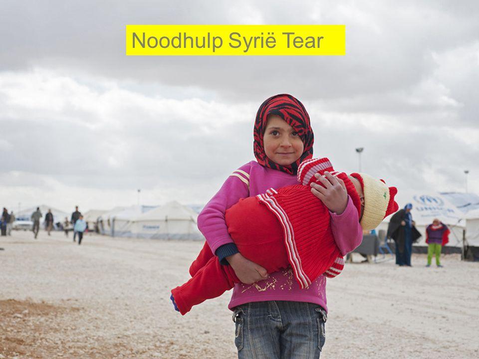 Noodhulp Syrië Tear