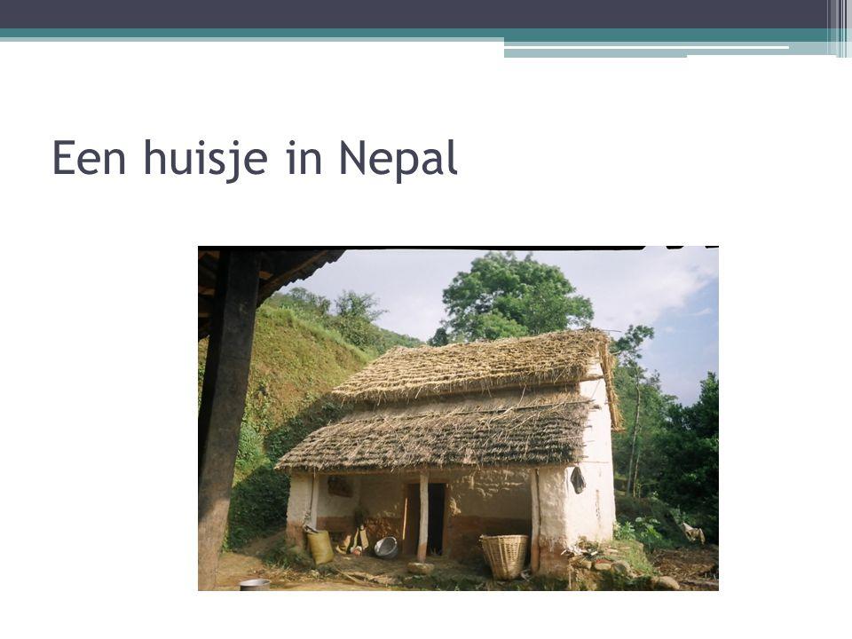 Een huisje in Nepal