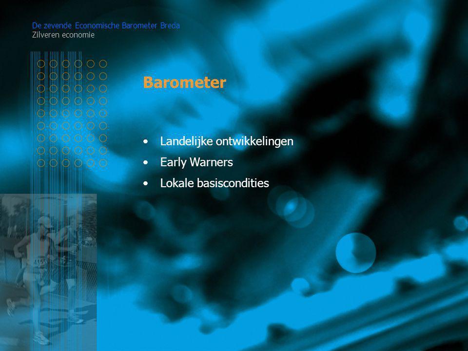 Barometer De zevende Economische Barometer Breda Zilveren economie Landelijke ontwikkelingen Early Warners Lokale basiscondities