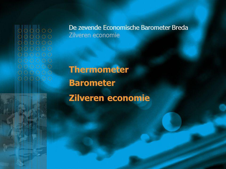 Thermometer De zevende Economische Barometer Breda Zilveren economie Zilveren economie Barometer