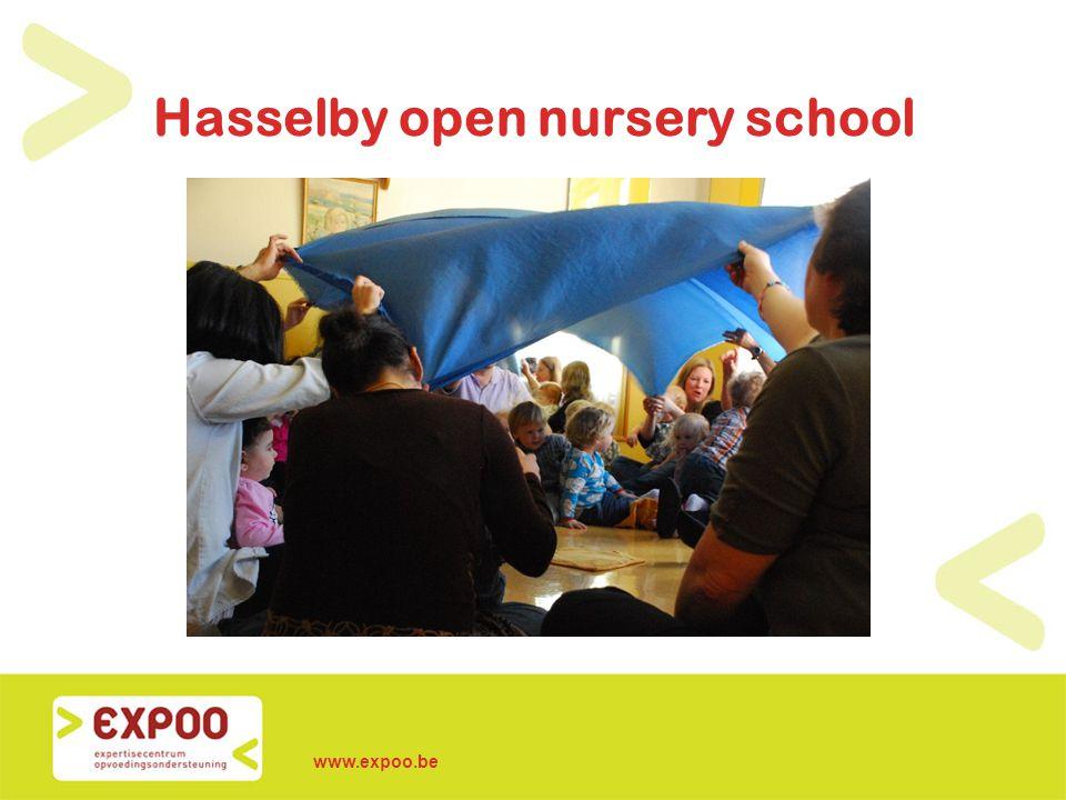 www.expoo.be Hasselby open nursery school