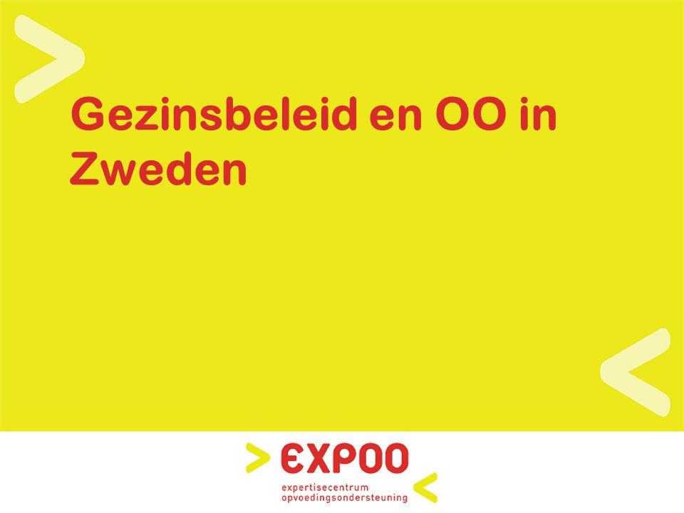 www.expoo.be Gezinsbeleid in Zweden Presentaties : zie www.eurochild.be »Overzicht »Maatschappelijk kwetsbare gezinnen (risico op armoede en sociale uitsluiting) »Eenoudergezinnen