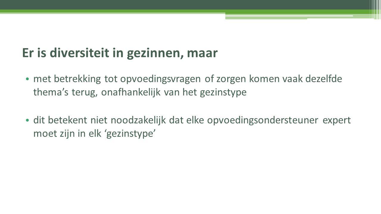 Meer weten over diversiteit in gezinnen.Van Leeuwen, K., & Van Crombrugge, H.