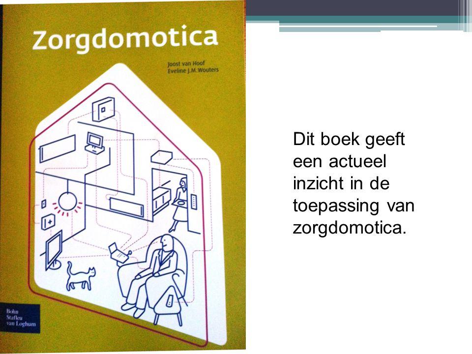 Dit boek geeft een actueel inzicht in de toepassing van zorgdomotica.