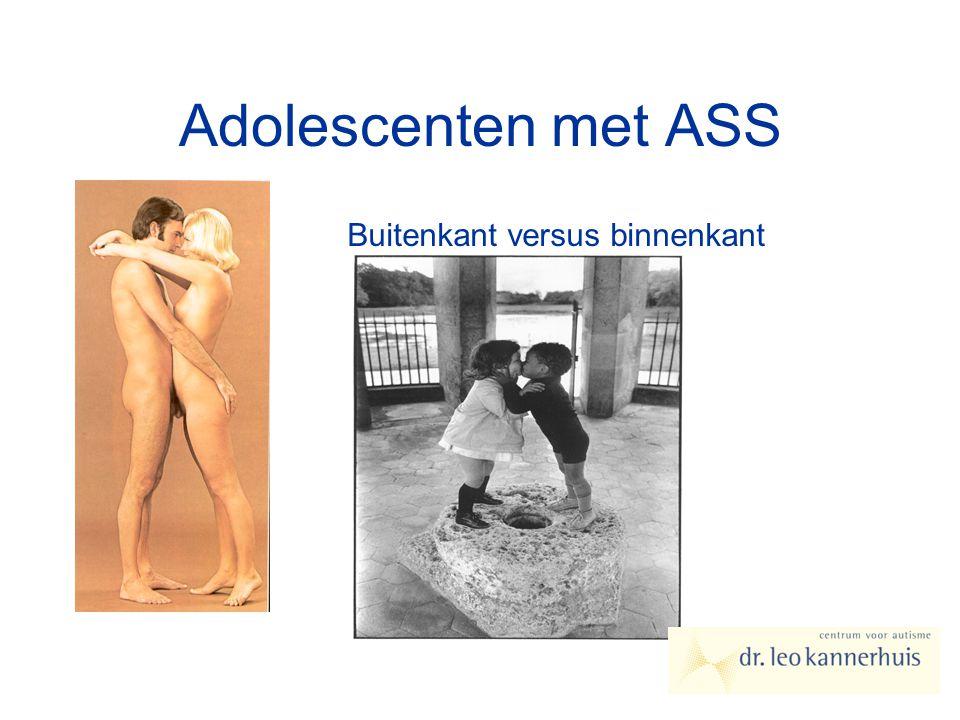 Adolescenten met ASS Buitenkant versus binnenkant