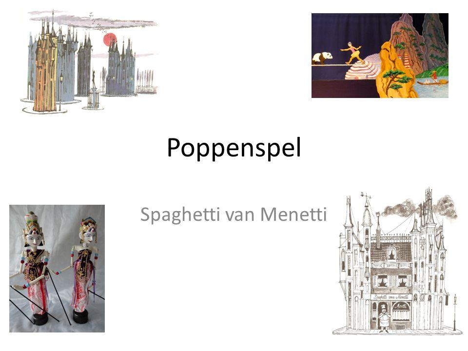 Poppenspel Spaghetti van Menetti