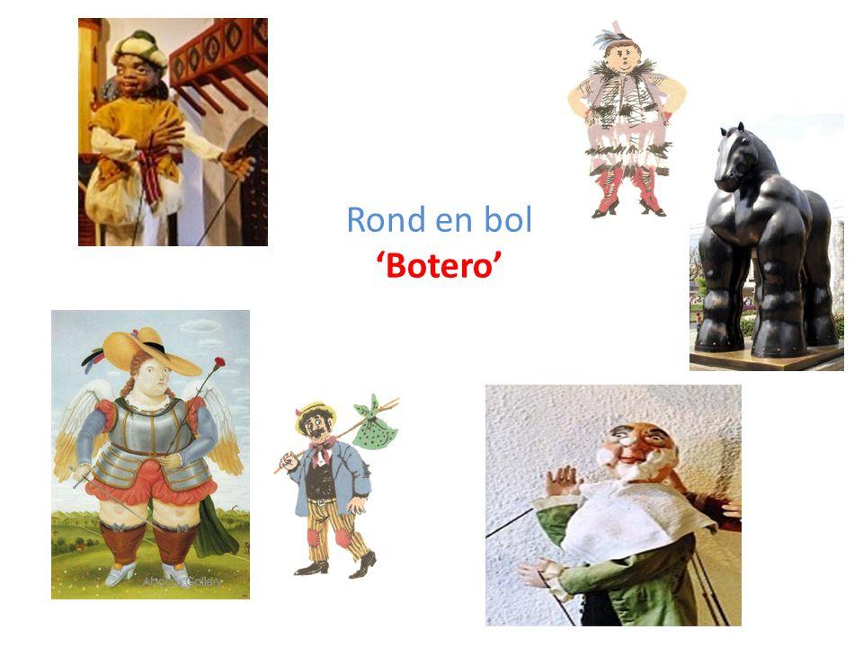 Rond en bol 'Botero'