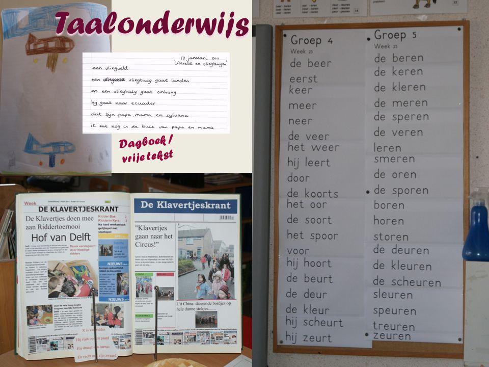 Taalonderwijs Dagboek / vrije tekst