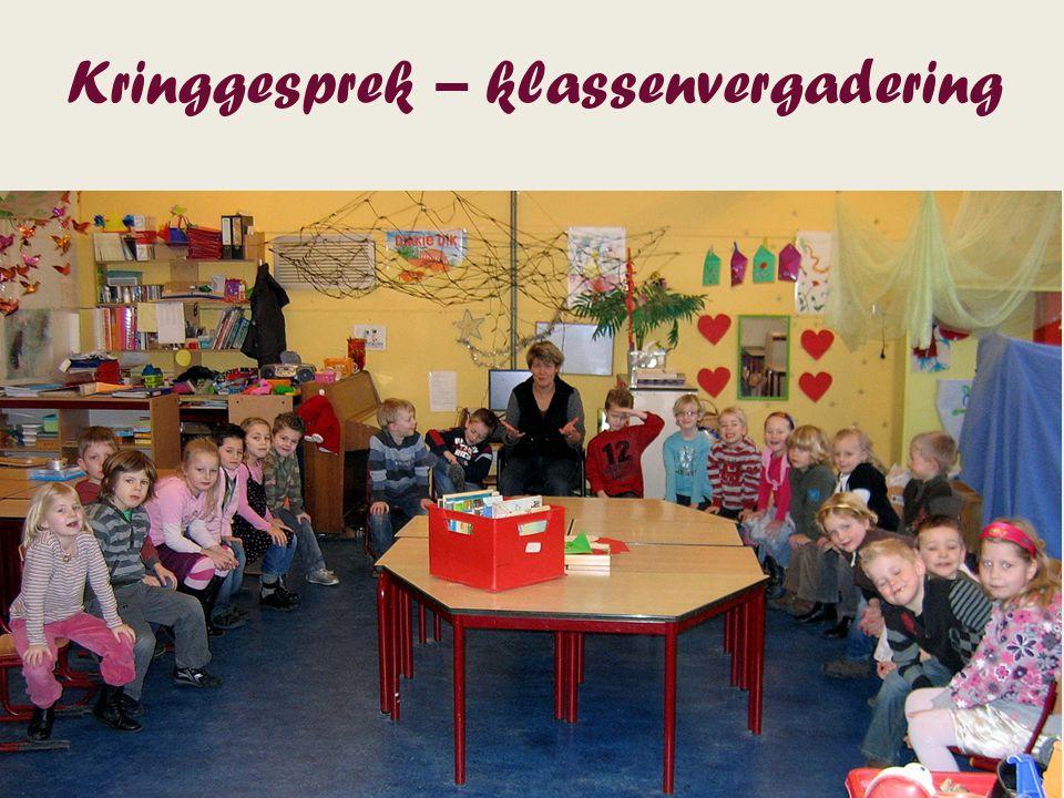 Kringgesprek – klassenvergadering