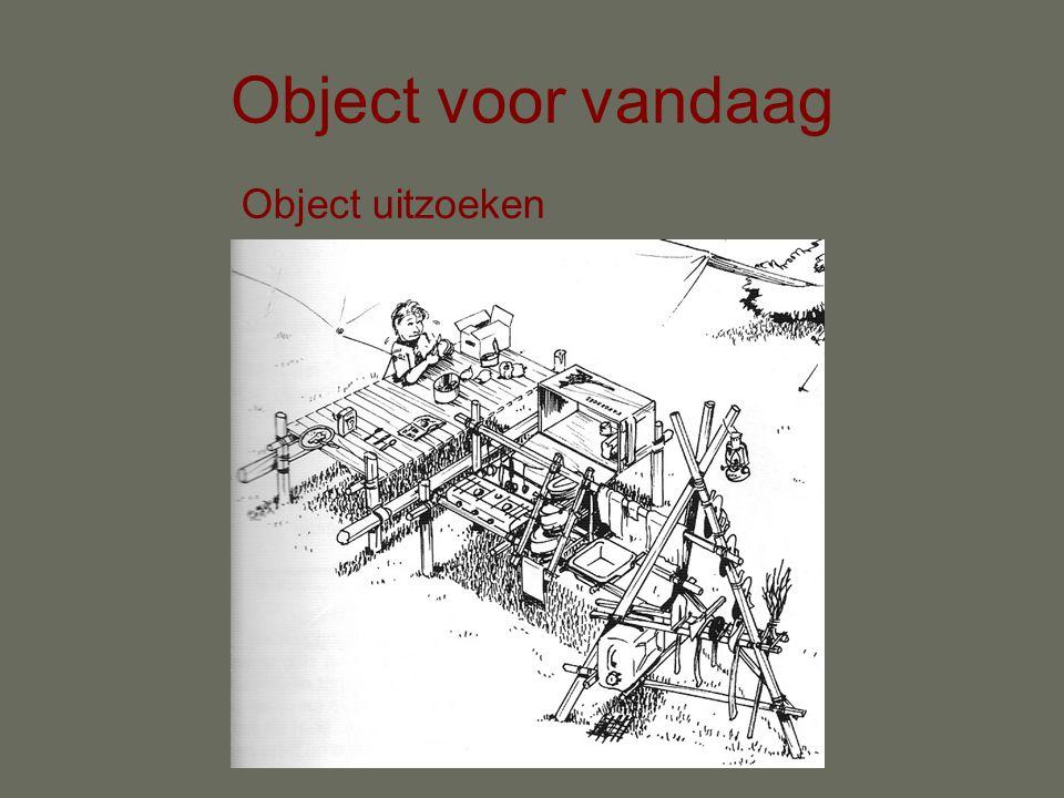 Object voor vandaag Object uitzoeken