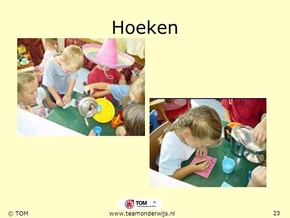 23 © TOMwww.teamonderwijs.nl Hoeken