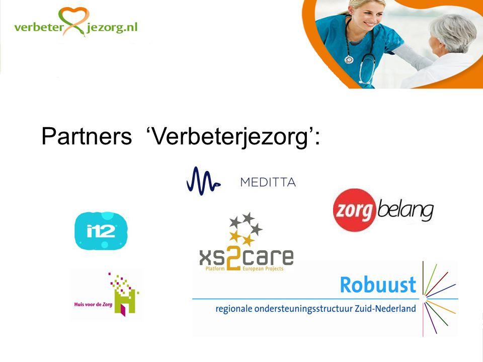 Partners 'Verbeterjezorg':