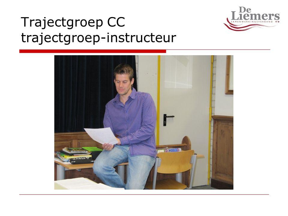 Trajectgroep CC trajectgroep-instructeur