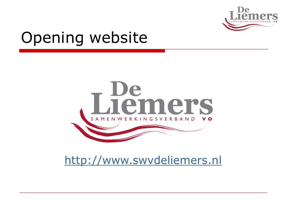 Opening website http://www.swvdeliemers.nl