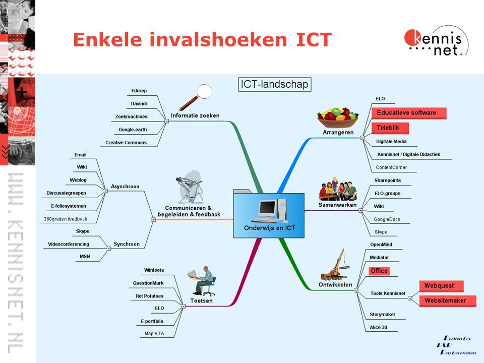 31 Enkele invalshoeken ICT