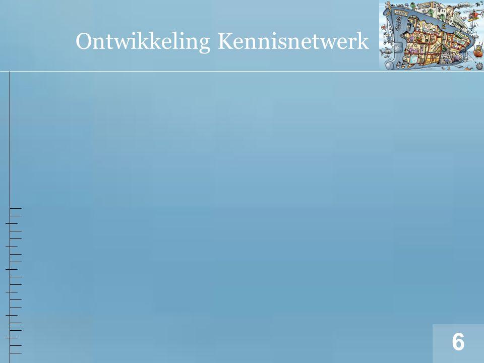 7 Kennisnetwerk DIGI-ZORG = basis activiteiten Domein.