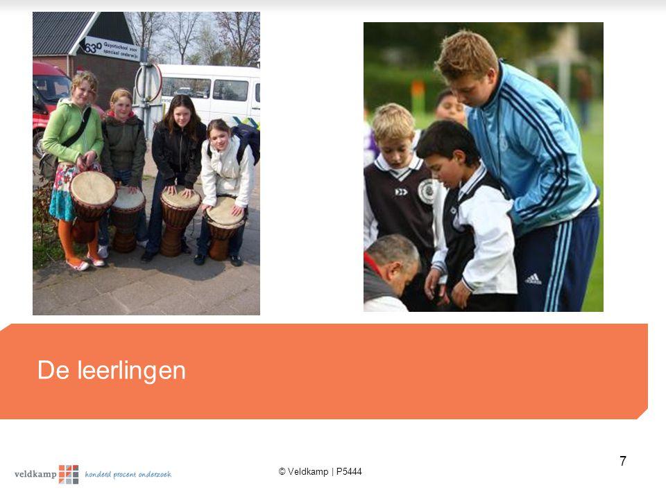© Veldkamp | P5444 7 De leerlingen