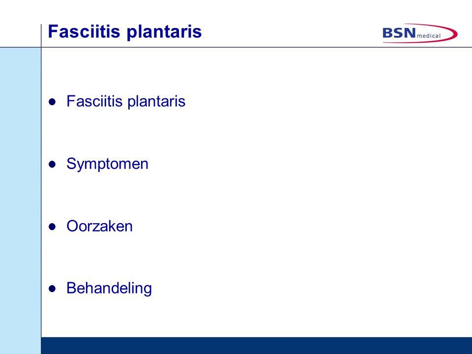 Fasciitis plantaris Symptomen Oorzaken Behandeling