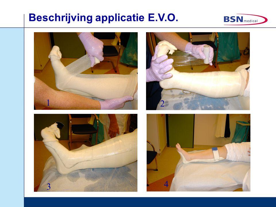 Beschrijving applicatie E.V.O. 1 2 3 4