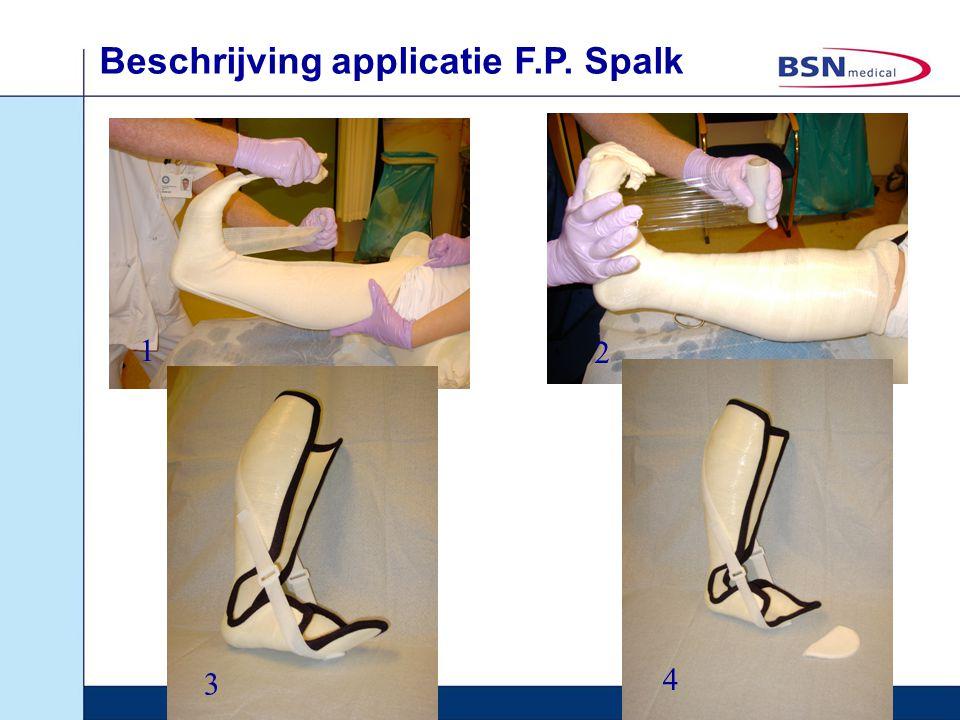 Beschrijving applicatie F.P. Spalk 1 2 3 4