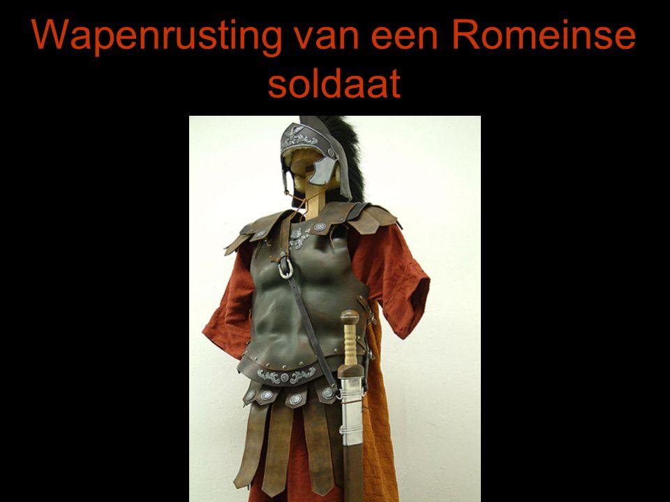 Wapenrusting van een Romeinse soldaat