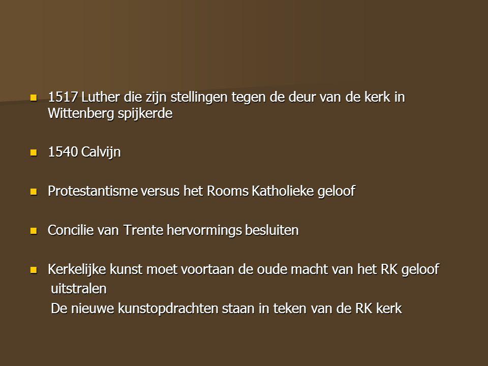 1517 Luther die zijn stellingen tegen de deur van de kerk in Wittenberg spijkerde 1517 Luther die zijn stellingen tegen de deur van de kerk in Wittenb