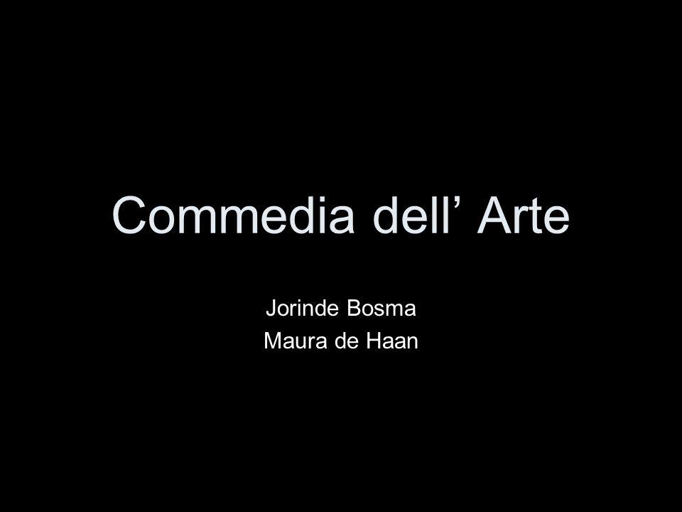 Commedia dell' Arte Jorinde Bosma Maura de Haan