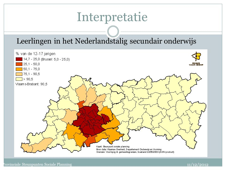 Interpretatie Leerlingen in het Nederlandstalig secundair onderwijs