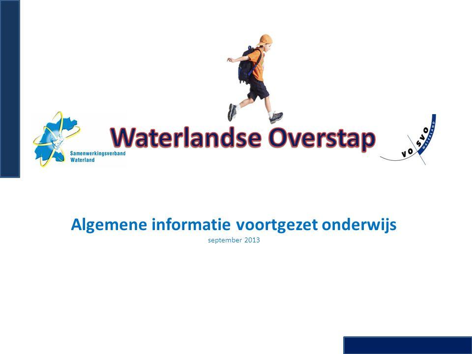Algemene informatie voortgezet onderwijs september 2013