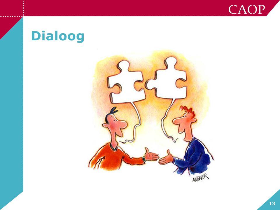 13 Dialoog