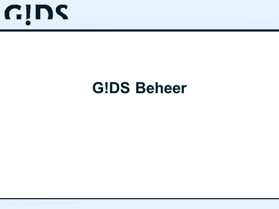 G!DS Beheer