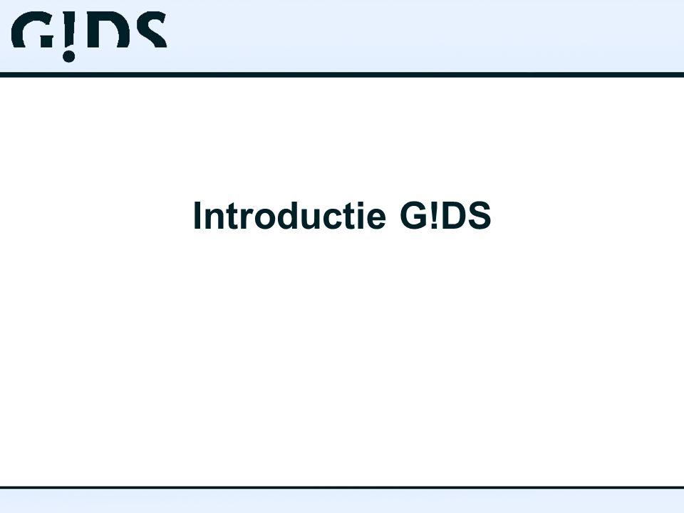 Introductie G!DS