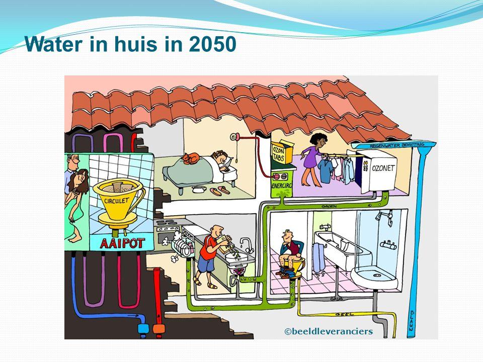 Water in huis in 2050 ©beeldleveranciers